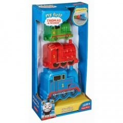 Thomas de trein Fisher Price stapellocomotieven