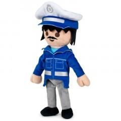 Playmobil knuffel politie agent 32cm