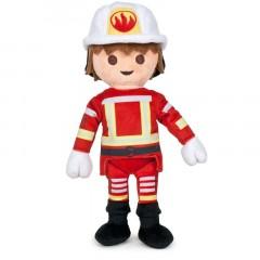 Playmobil knuffel brandweerman 32cm