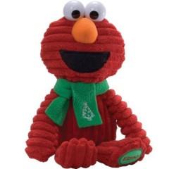 Sesamstraat knuffel Elmo corduroy Christmas