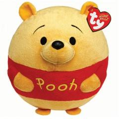 Winnie de Poeh TY Ballz knuffel Winnie 30cm