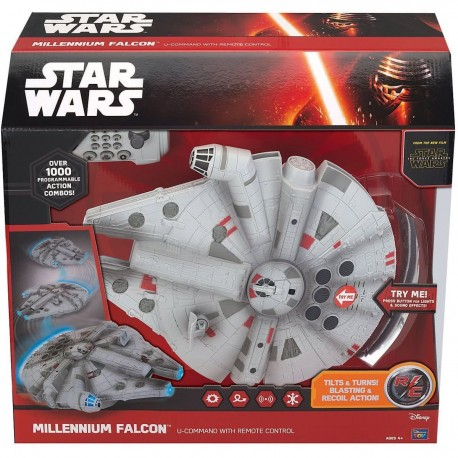 Star Wars RC bestuurbare U-command Millennium Falcon