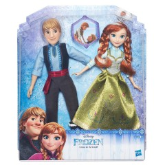 Disney Frozen poppen set Anna en Kristoff