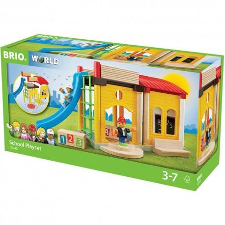 Brio houten school speelset