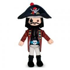 Playmobil knuffel piraat Zwartbaard 30cm