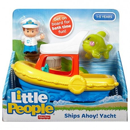 Fisher Price Little People Schip Ahoy Jacht badspeelgoed