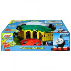 Thomas de trein Take 'n Play Tidmouth Sheds
