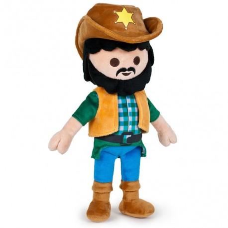 Playmobil knuffel cowboy 32cm