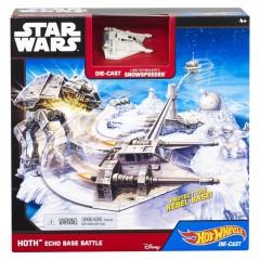 Hot Wheels Star Wars speelset HOTH Echo Base Battle