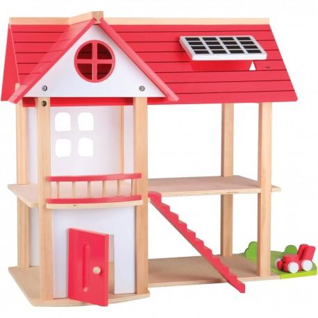 Beeboo houten poppenhuis villa