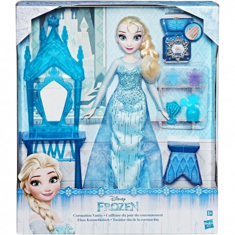 Disney Frozen pop Elsa met kaptafel