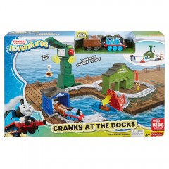 Thomas de trein Adventures - Cranky in de haven