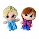 Disney Frozen handpoppen Anna en Elsa