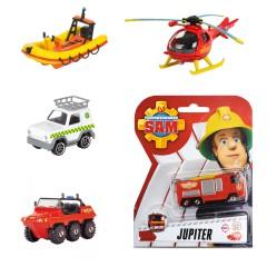 Brandweerman Sam diecast voertuigen 5 stuks (A)