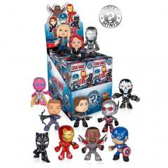 Funko Mystery Minis Captain America display 12st