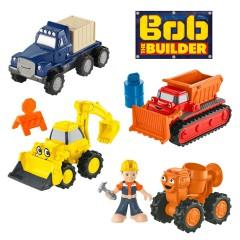 Bob de Bouwer diecast voertuigen set 4 stuks