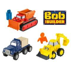 Bob de Bouwer diecast voertuigen set 3 stuks