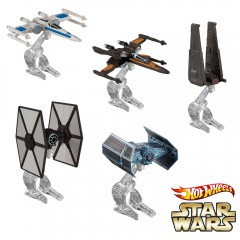 Hot Wheels Star Wars starship set 5 stuks