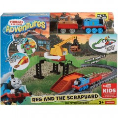 Thomas de trein Adventures - Reg en de sloperij