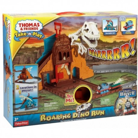 Thomas de trein Take 'n Play - Brullende dino run