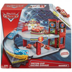 Disney Cars Piston Cup Racing Garage