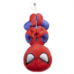 Spiderman knuffel hanging met zuignap 28cm