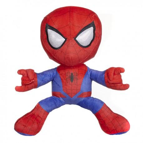 Spiderman knuffel shooting red/blue 33cm