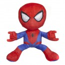 Spiderman knuffel shooting red/blue 33cm