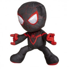 Spiderman knuffel shooting black/red 33cm