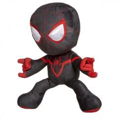 Spiderman knuffel shooting black/red 33cm