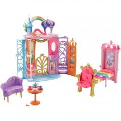 Barbie draagbaar kasteel Dreamtopia
