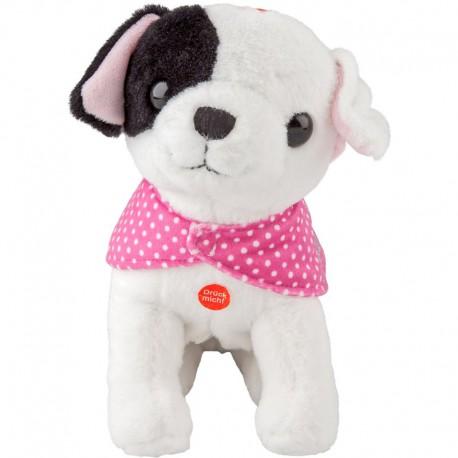 TOPModel Bisou puppy knuffel met geluid