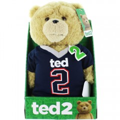 Ted 2 pratende knuffel - football shirt