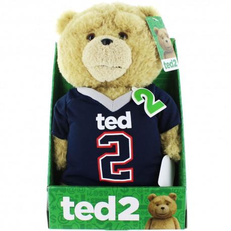 Ted 2 pratende knuffel - football shirt
