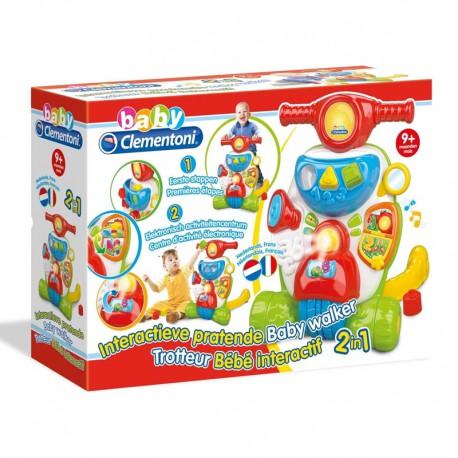 Clementoni interactieve pratende baby walker