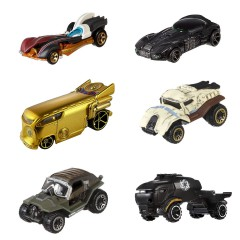 Hot Wheels Star Wars diecast set 6 stuks