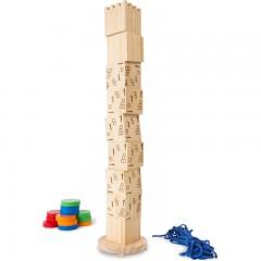 BS houten balans toren