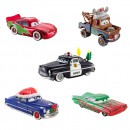 Disney Cars kerst diecast 4 stuks