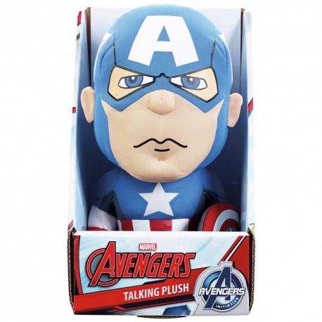 Captain America knuffel met geluid