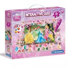 Disney Princess interactieve quiz puzzel