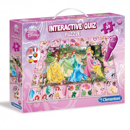 Disney Princess interactieve quiz puzzel