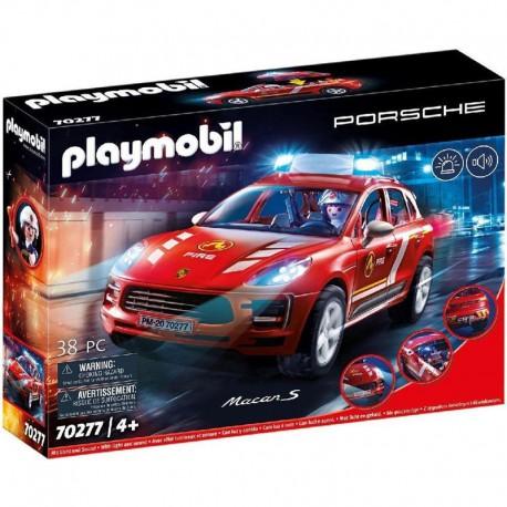 Playmobil 70277 Porsche Macan S brandweer