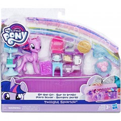 My Little Pony Twilight Sparkle On-The-Go speelset
