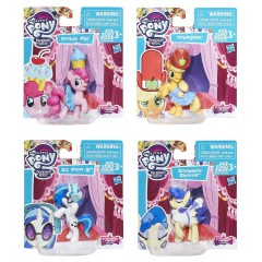 My Little Pony Collectable Storypack set 4 figuren