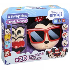 Swapsies Disney emoji Minnie Mouse pluche hoofd