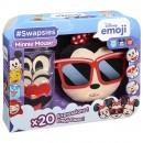 Swapsies Disney emoji Minnie Mouse pluche hoofd