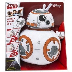 Star Wars Sound & Motion pluche BB-8