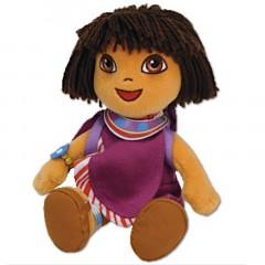 Dora beanbag knuffel Tanzania 18cm